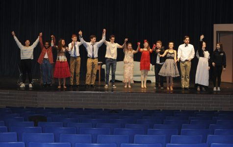 Students perform fall play 'Mutually Assured Destruction'