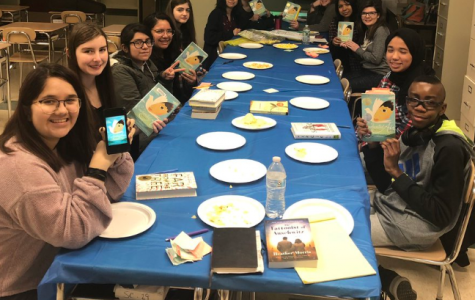 Book club gives students a chance to read and celebrate literature