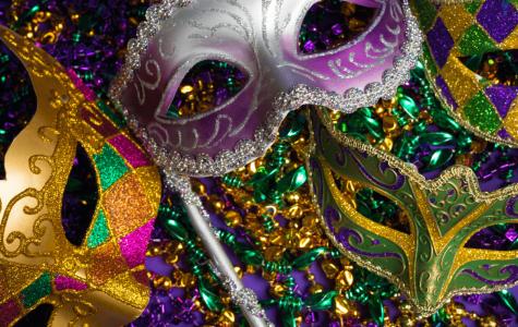 Language honor societies held Mardi Gras fundraiser