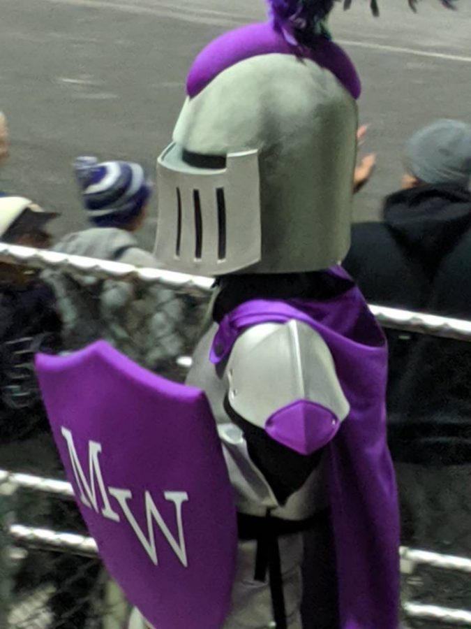 M-W's new mascot Woodroe has been seen at school events since his debut this fall.