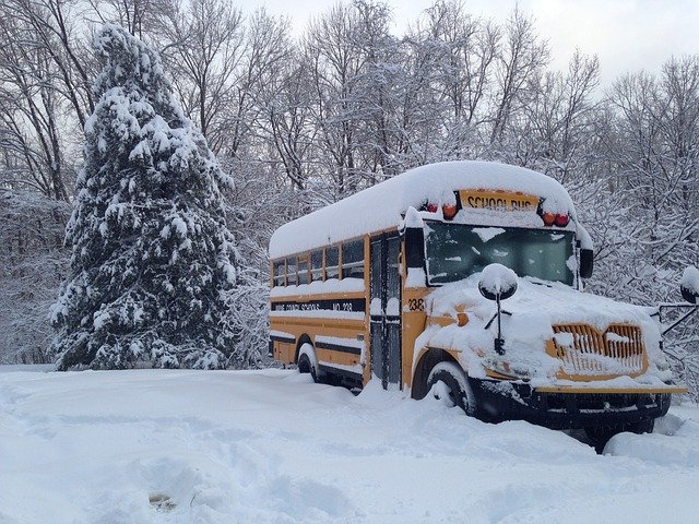A+common+challenge+during+winter+storms+is+making+sure+the+buses+are+clear+of+snow+in+time+for+school+to+start.