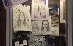 The showcase for February's artist of the month Danae Drews.
