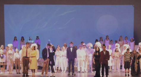 This image shows the 2019 spring musical performance of The Addams Family. There are possibilities that this year's performance of the spring musical will be held virtually or in-person.
