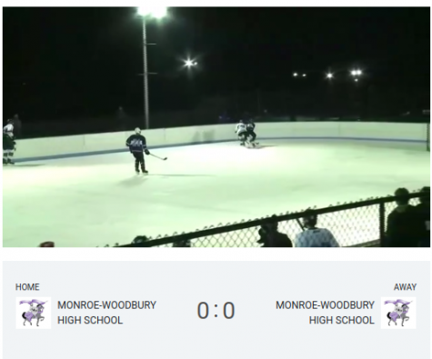 The most recent game streamed: Boys Varsity Ice Hockey, Purple v. White