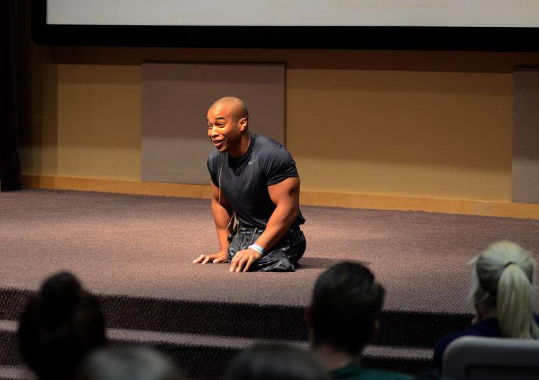 Motivational speaker Rohan Murphy will talk to community ...