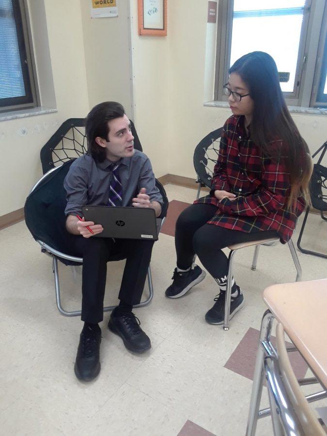 English teacher receives Early Career Scholarship Award