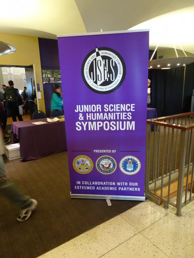 Science research students attend state competition at University at Albany
