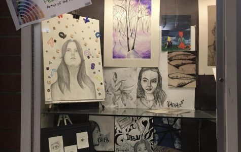 February artist of the month Danae Drews will be one of artists displayed during this year's art show.