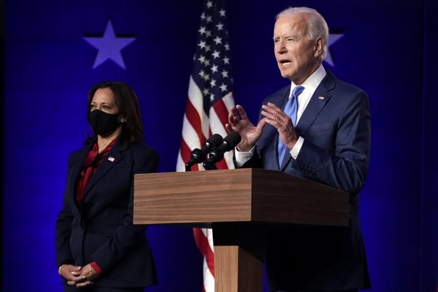 Joe Biden becomes President-elect of the United States of America