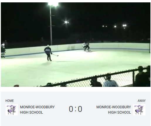 Boys Varsity Ice Hockey, Purple v. White